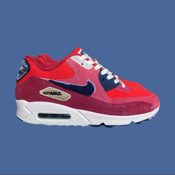 AIR MAX 90 'COLOR PACK - UNIVERSITY RED'